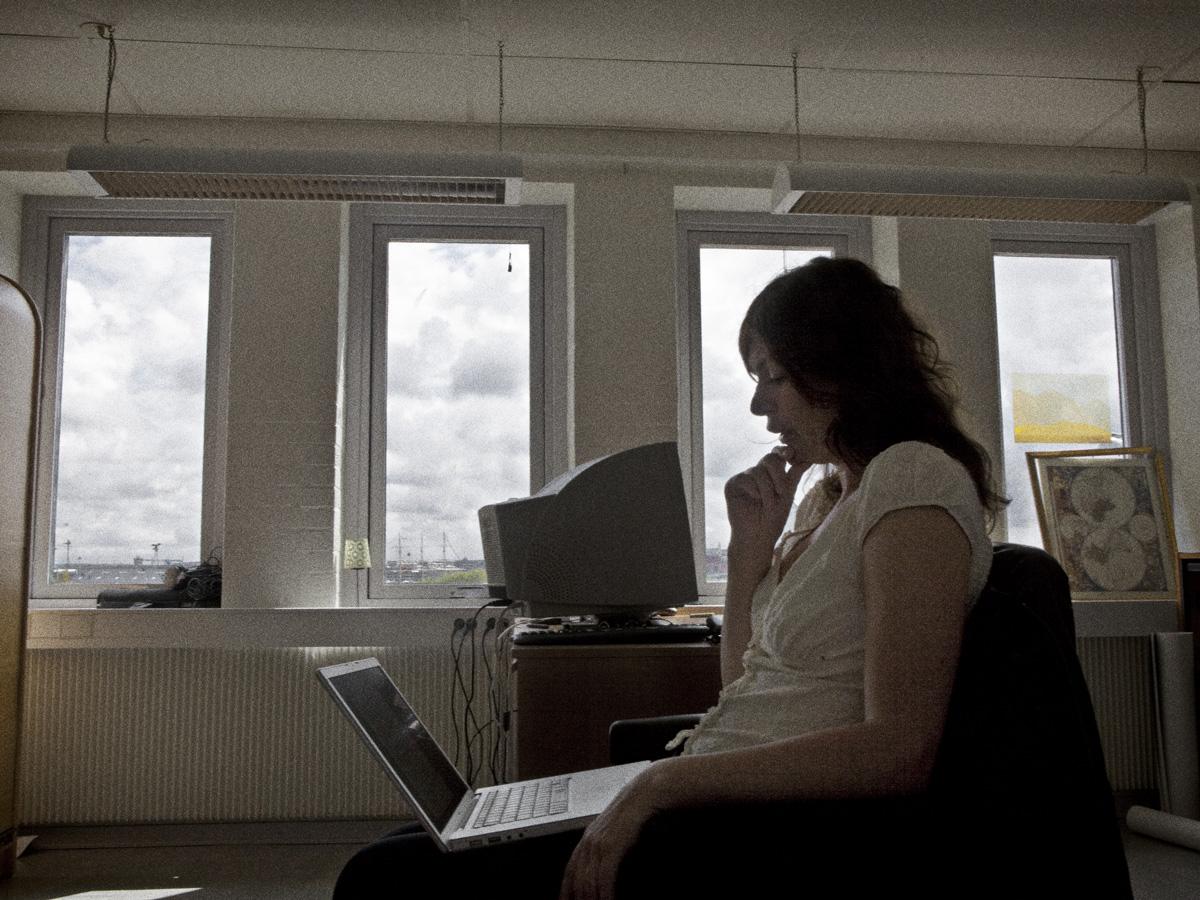 Anna Byvald på Silverosa film.