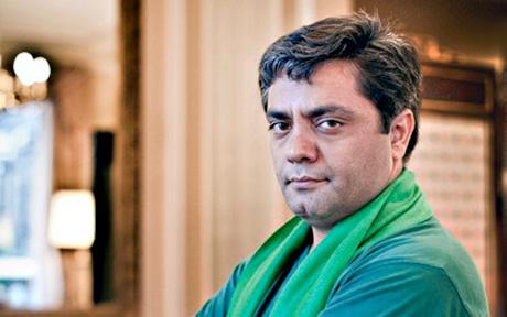 Mohammad Rasoulof i gröna färger