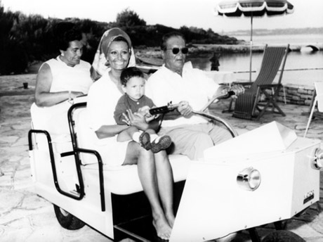 Tito och Sophia Loren