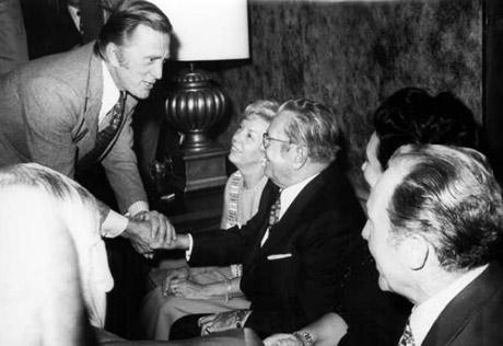 Tito och Kirk Douglas