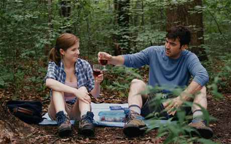 Anna Kendrick och Ron Livingston i Drinking buddies.
