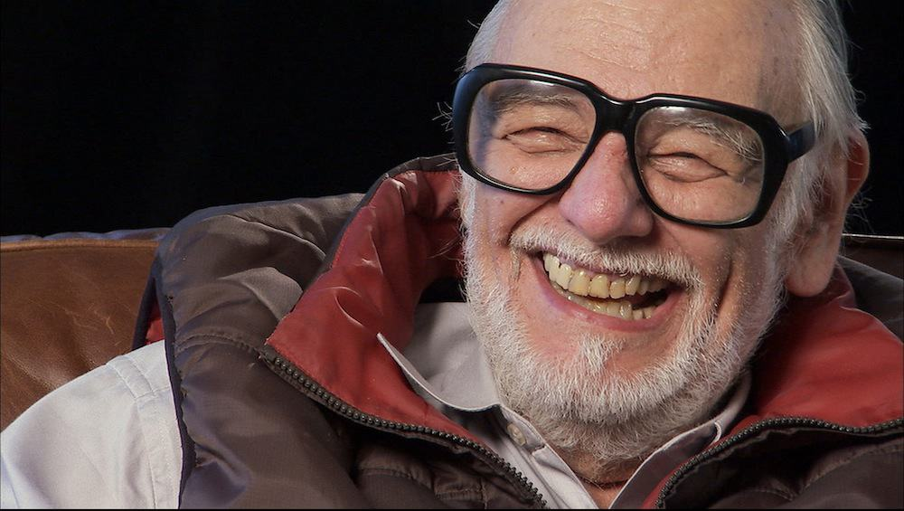 "George Romero as seen in the documentary ""Birth of the Living Dead."""