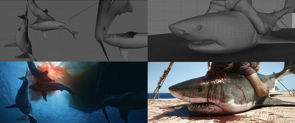 Konsten att skapa en haj. Bilder från Kon-Tiki. © Important looking pirates