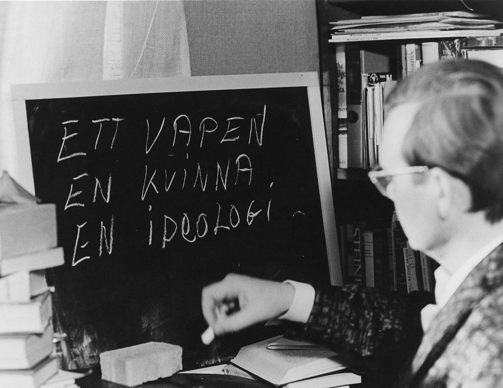 Lars Ekborg i Susan Sontags Duett för kannibaler från 1969