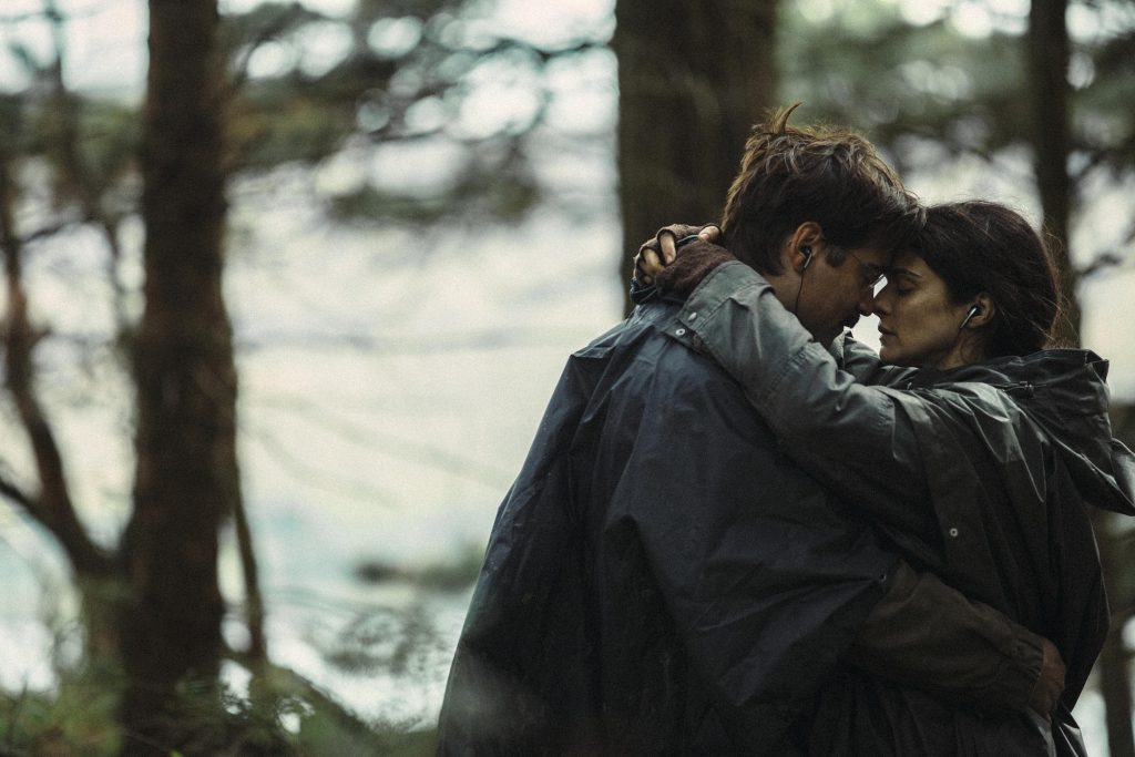 Colin Farrell och Rachel Weisz i The lobster