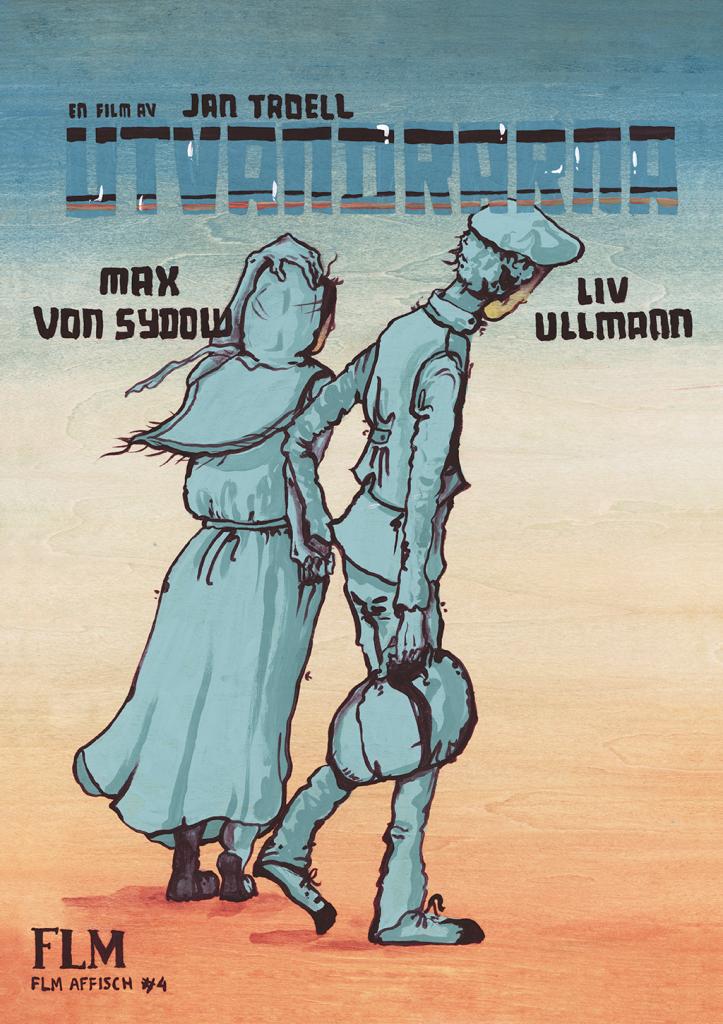 FLM-affisch #4: Utvandrarna (1971)