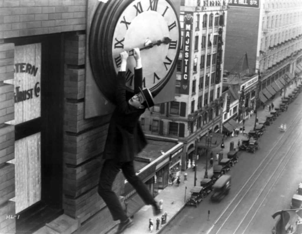 Upp genom luften (1923) med Harold Lloyd.