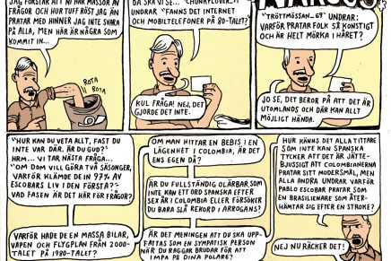 Pontus Lundkvist om Narcos