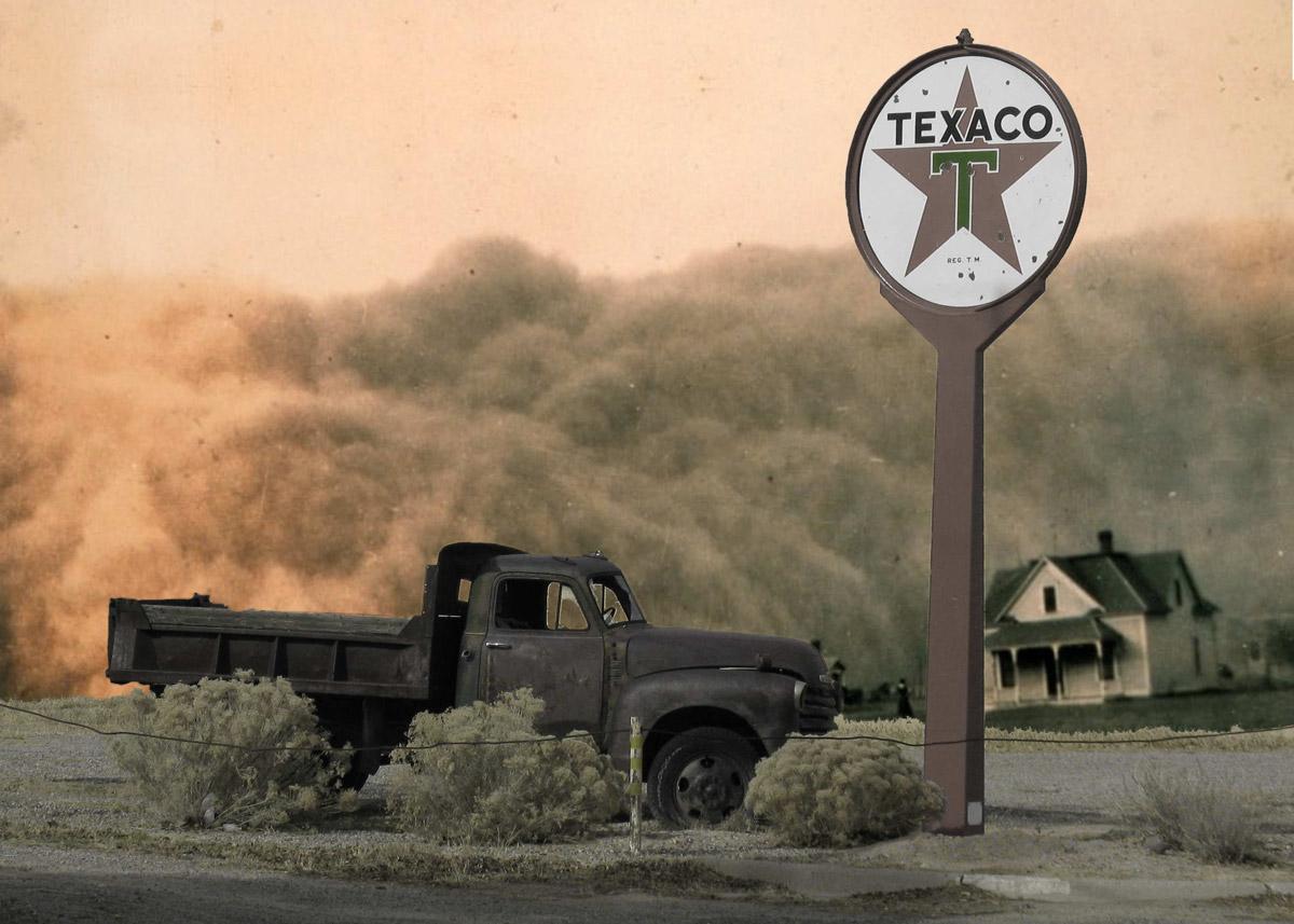 Bildspråket i Carnivàle (2003-2005) är som Edward Hopper på syra i Amerikas dust bowl.