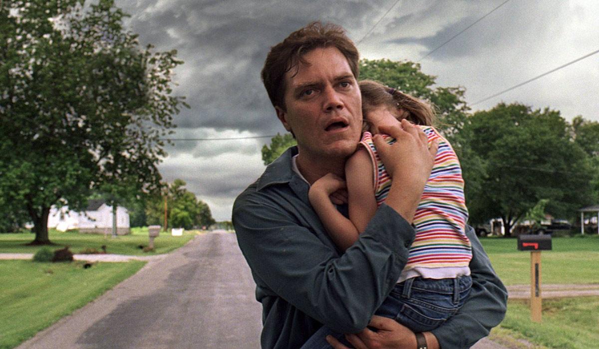 Michael Shannon som katastrofmedveten pappa i Take shelter.
