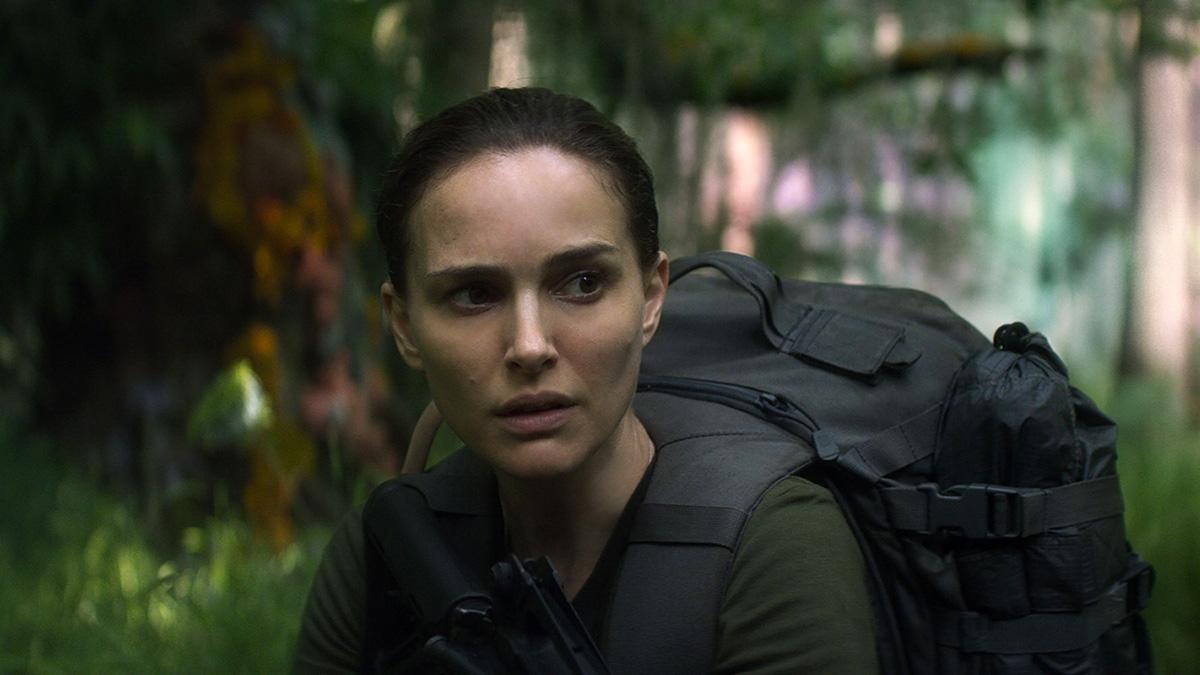 Natalie Portman skärper alla sinnen i Annihilation.