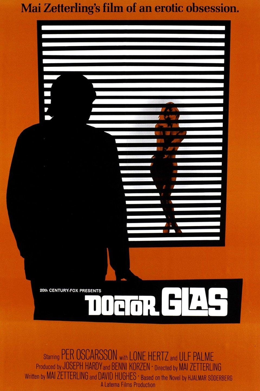 Amerikanska affischen till Mai Zetterlings Dr. Glas från 1968.