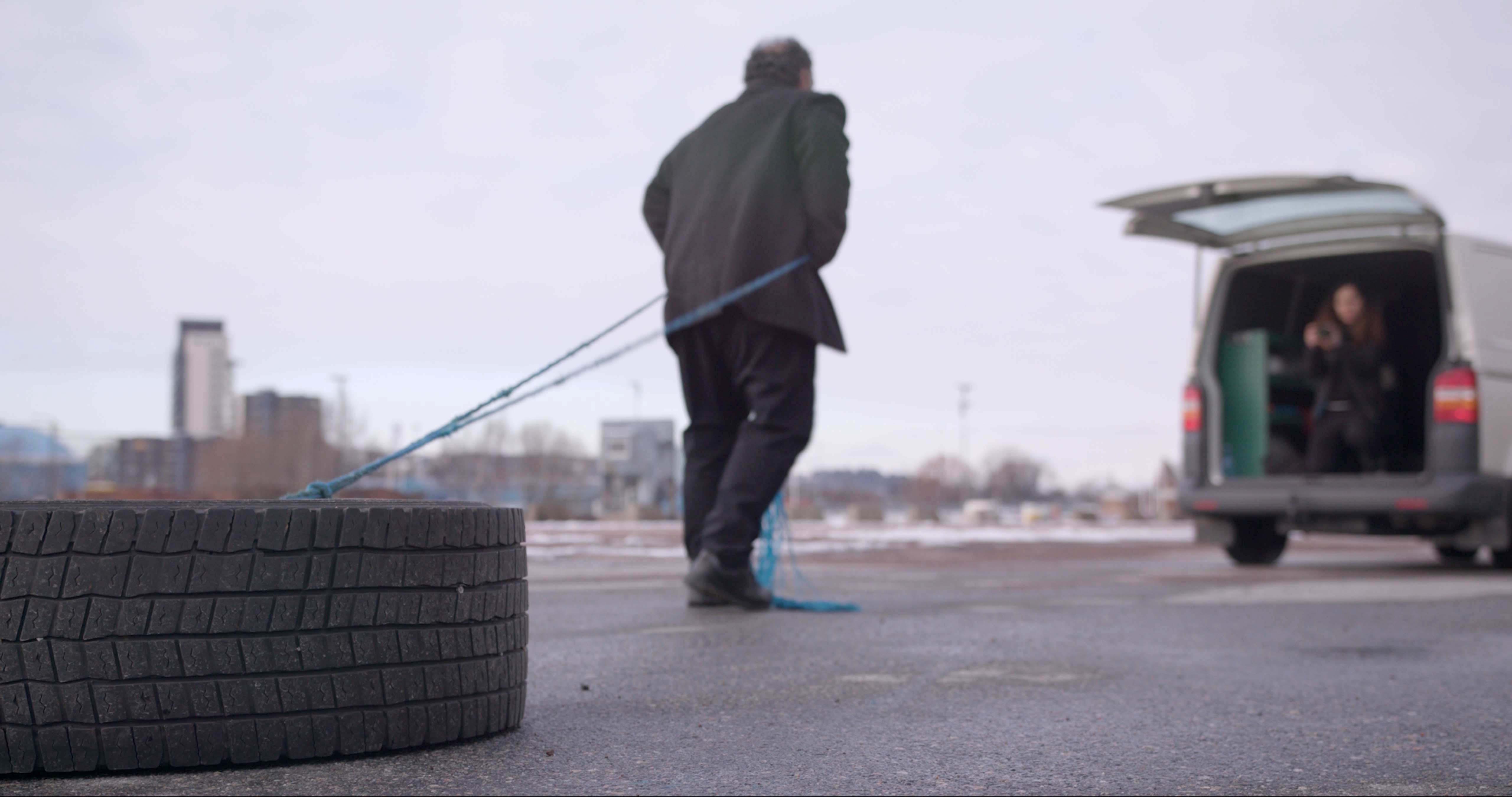 Berivan Erdogans examensfilm kretsar kring film och makt.