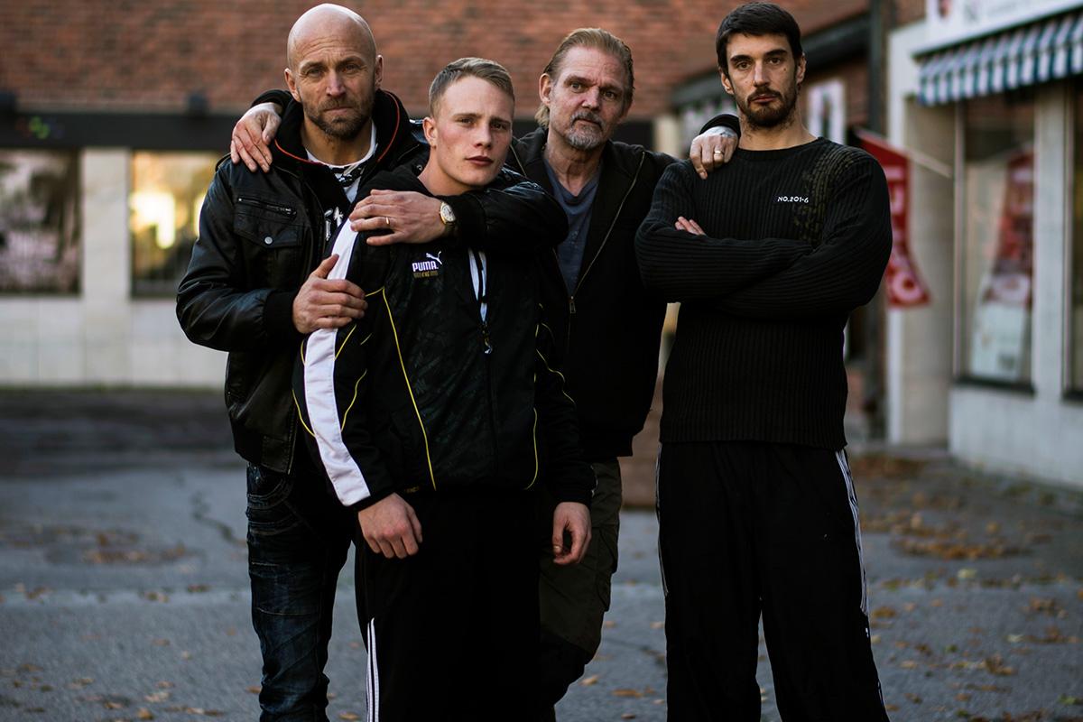 Norrköpingsbor castade av Pauline Hansson till Peter Grönlunds kommande film Goliat. Till vänster: huvudrollsinnehavarna Joakim Sällquist och Sebastian Ljungblad.