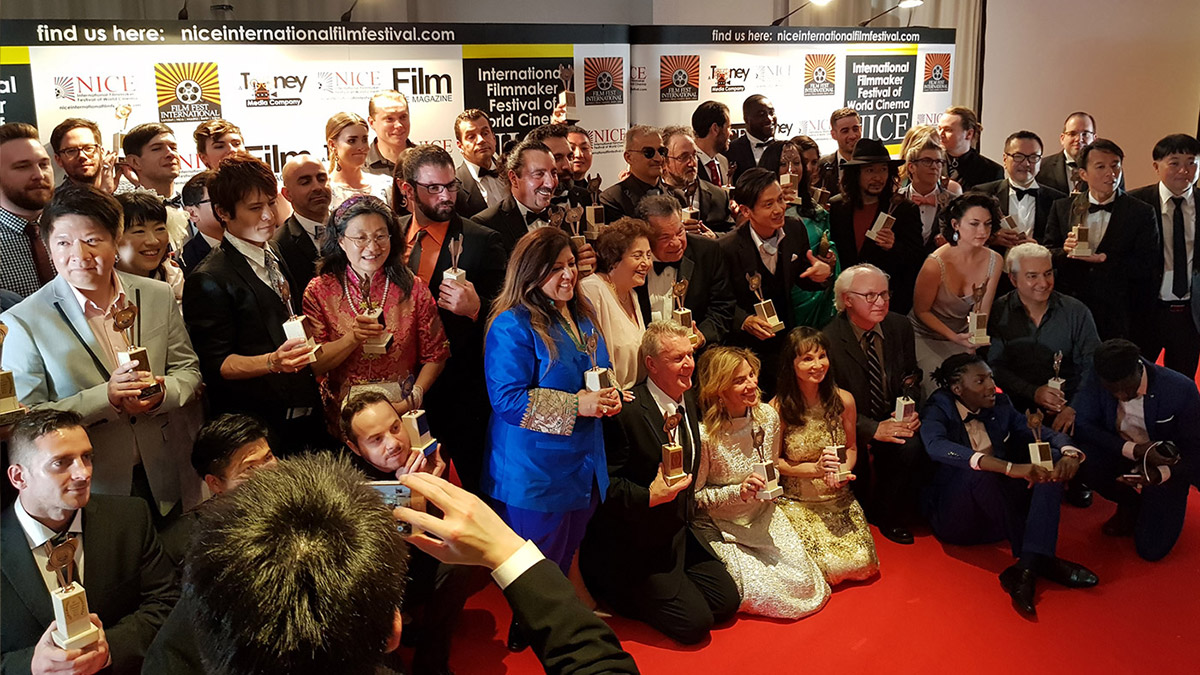 Vinnarna på Nice International Film Festival.