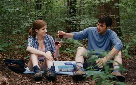 Anna Kendrick och Ron Livingston i Drinking buddies.
