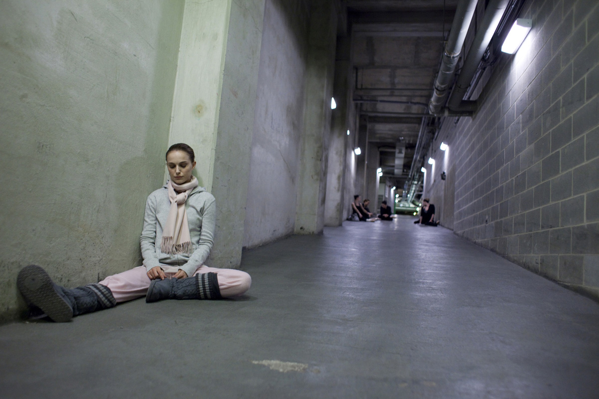 Natalie Portman i Black swan från 2010.