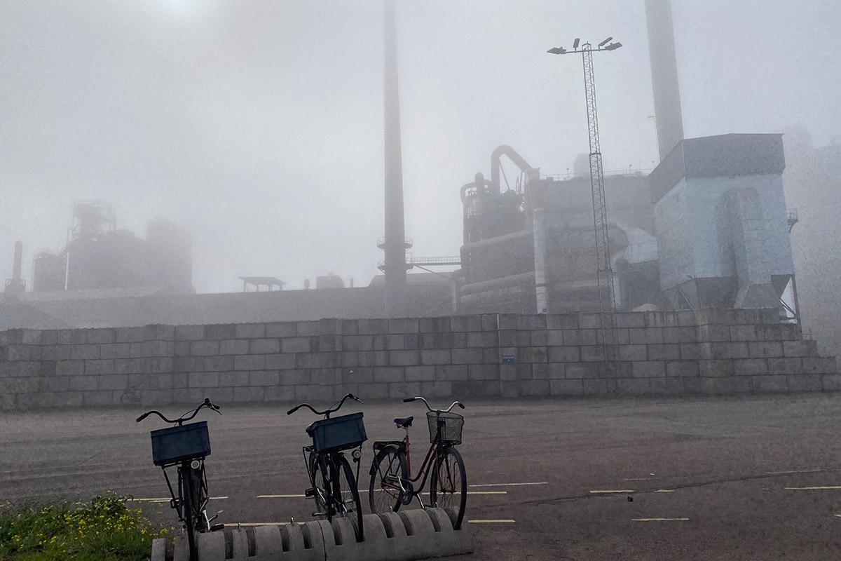 Cementa i Degerhamn.