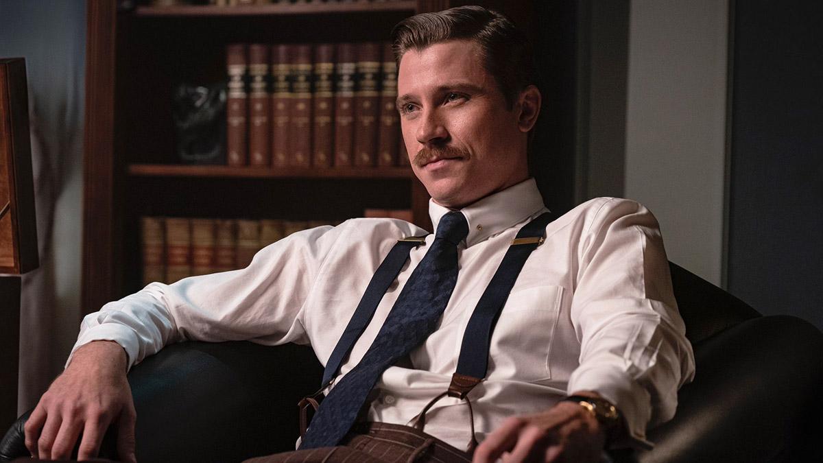 Garrett Hedlund i rollen som Harry J. Anslinger.